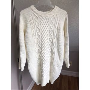 Forever 21 | Cable Knit Sweater Dress Size Small